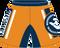 Back View of WarriorSport Striker Template