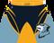 WarriorSport Hunter Template Front View