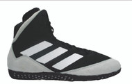 adidas Mat Wizard wrestling shoe has a new color of Black/Onyx/White