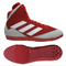 New Red/Grey/White adidas mat hog wrestling shoes