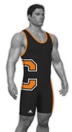 Sublimated Adidas aS108c-03-16 Custom CLIMALITE Sublimated Singlet