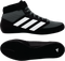 Black/Onyx/White adidas Mat Hog 2.0 wrestling shoes