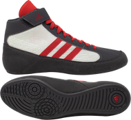 New Grey/White/Red HVC wrestling shoes from Adidas