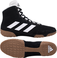 TAdidas Tech Fall Wrestling Shoes in Black/White