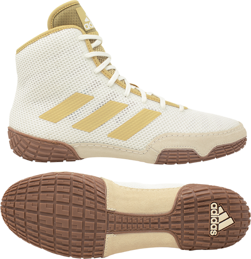 Adidas Tech Fall White/Vegas Wrestling Shoes