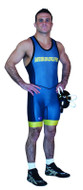Sublimated Cliff Keen S79CK43J Compression Band Custom Sublimated Singlet