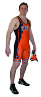 Sublimated with Leg Band Cliff Keen S794328 Custom Sublimated Singlet