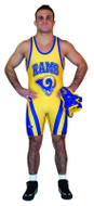 Sublimated Cliff Keen S794340 front Leg Stripe Custom Sublimated Singlet