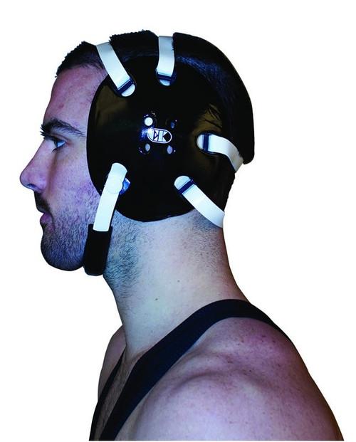 Black - White Cliff Keen #E58 Signature Headgear