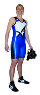 Sublimated Cliff Keen SW7943J Women's Custom Sublimated Singlet