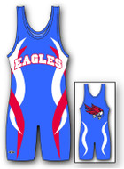 Sublimated Matman #276 Skirmish Custom Singlet