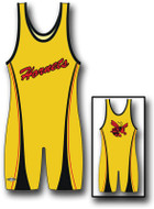 Sublimated Matman #234 The Hornet Custom Singlet
