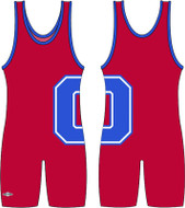 Sublimated Matman #266 The Striker Custom Singlet