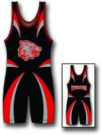 Sublimated Matman #220 The Striker Custom Singlet