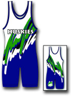Sublimated Matman #250 Thunder Custom Singlet