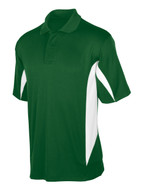 Forest/White Tonix Blade Polo Shirt #1130