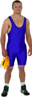 solid color matman singlet