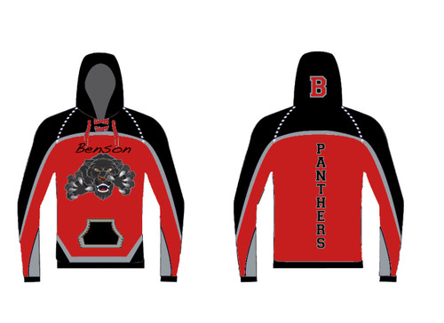 Custom Sublimated Hoodie WarriorSport #1202