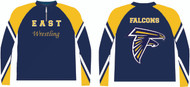 Sublimated 1/2 Zip Pullover WarriorSport #1204