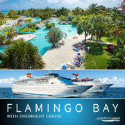 Flamingo Bay Hotel with Overnight Cruise Service