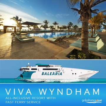 Viva Wyndham All-Inclusive with Fast Ferry Service