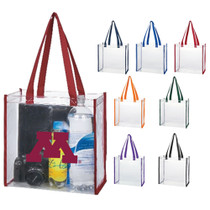 Clear Gameday Tote (no zipper)