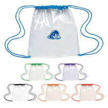 Clear Drawstring Bag