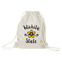 Natural Canvas Drawstring Bag