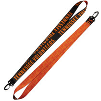 "1"" Satin Lanyard Two sided with plastic snap/hook"