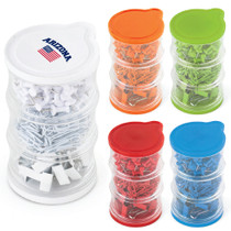 Tower of Clips & Pins