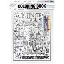 8 Page Coloring Book