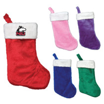 Embroidered Plush Stocking