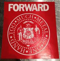 FORWARD Wisconsin Sticker