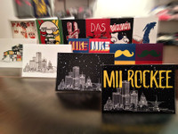 Entire Too Much Rock Postcard Set (12 cards)