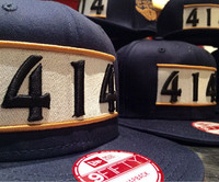 414 Hat New Era Snap Back 3D