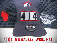 4|1|4 Milwaukee, Wisc hat