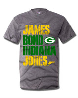 James Bond Indiana Jones (grey shirt).