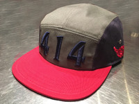 414 Cycling Hat Red Navy