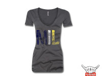 MIL Womens V-Neck T-Shirt