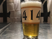 414 Milwaukee 16oz pint glass