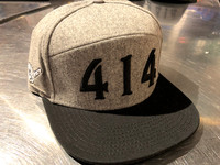 414 Fashion hat light grey