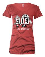 414 Let's be Friends Women's Shirt