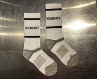 414 Milwaukee Socks White
