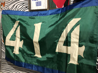 414 Milwaukee Basketball Flag