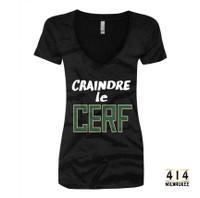 Craindre le Cerf Womens t-shirt