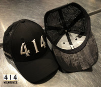 Introducing the 4th version of the 414 Milwaukee Boss hat with metallic white thread. Only 48 made. This is perhaps the highest quality Milwaukee hat we've ever made. TriTech is a unique lightweight 4-way stretch fabric that rebounds and allows for unparalleled comfort when used on any headwear silhouette. Moisture Wicking Technology and UV Sun Protection. The 414 Milwaukee hat is for bosses and Miltown Hustlers only. You know who you are. Exclusive limited edition (48 hats)