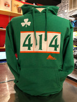 Hey Milwaukee Irish. Here's your 414 Milwaukee t-shirt. Everyone will kiss you when you wear this shirt. 100% vintage soft combed cotton, fashion fit 4.5oz shirt.