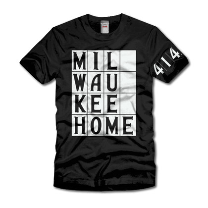 414 / Milwaukee Home t-shirt