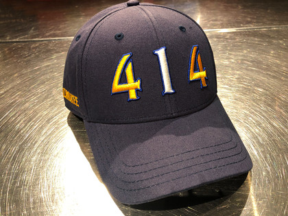 414 Milwaukee navy area code hat