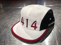 414 Area code running hat